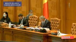 Ședința în plen a Camerei Deputaților României din 13 mai 2020