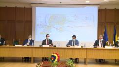 Semnarea contractului pentru execuția Secțiunii 5 - Curtea de Argeș - Pitești din Autostrada Sibiu-Pitești
