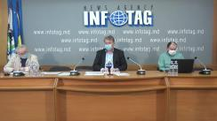 """Conferință de presă organizată de Asociația Sociologilor și Demografilor din Republica Moldova cu tema """"Solidaritatea socială în contextul pandemiei COVID-19"""""""