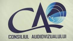 Ședința Consiliului Audiovizualului din 14 mai 2020