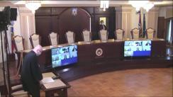 Ședința publică a Curții Constituționale a României din 13 mai 2020