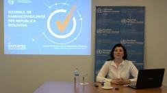 """Seminar organizat de Biroul Organizației Mondiale a Sănătății în Republica Moldova cu tema """"Utilizarea rațională a medicamentelor pe timp de pandemie"""""""