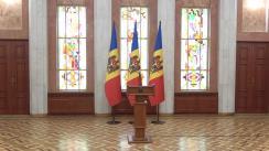 Declarațiile Președintelui Republicii Moldova, Igor Dodon, după ședința Consiliului Suprem de Securitate din 14 mai 2020