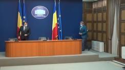 Declarații de presă după ședința Comitetului Național pentru Situații de Urgență