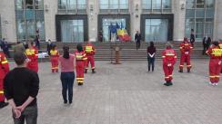 Ceremonia festivă de încheiere a Misiunii medicale umanitare în Republica Moldova. Medicii și asistenții români se întorc acasă!