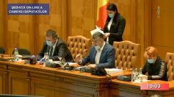 Ședința în plen a Camerei Deputaților României din 20 mai 2020