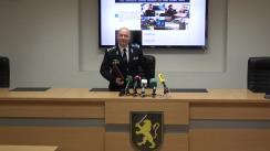 Briefing de presă susținut de șeful INSP, Sergiu Paiu, pe marginea accidentului produs în noaptea de 17 mai 2020