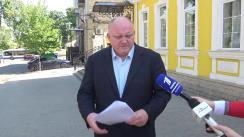 Deputatul fracțiunii PSRM, Vasile Bolea, depune o sesizare la Curtea Constituțională a Republicii Moldova