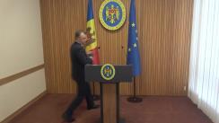 Declarațiile Prim-ministrului Republicii Moldova, Ion Chicu, după ședința Guvernului Republicii Moldova din 20 mai 2020