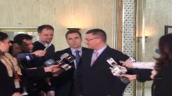 Declarație de presă a prim-ministrului, Mihai Răzvan Ungureanu, după întrevederea cu șeful misiunii FMI în România, Jeffrey Franks