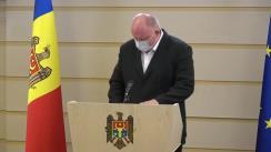 Declarațiile lui Vasile Bolea în timpul ședinței Parlamentului Republicii Moldova din 21 mai 2020