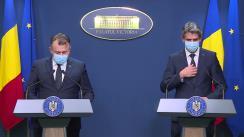 Declarații de presă după ședința Guvernului României din 21 mai 2020