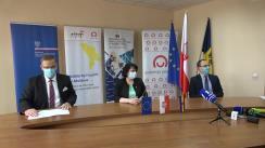 Evenimentul public de transmitere a echipamentelor medicale, oferite cu sprijinul Ministerului Afacerilor Externe al Republicii Polone prin intermediul Solidarity Fund PL în Republica Moldova