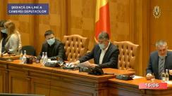 Ședința în plen a Camerei Deputaților României din 25 mai 2020