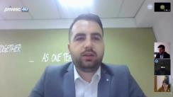 """EU Debates Cafe organizat de Institutul pentru Politici și Reforme Europene cu tema """"Dialogul dintre Chișinău și Tiraspol în contextul crizei COVID-19: provocări și soluții"""""""