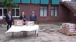 Evenimentul de acordare a unui ajutor umanitar din parte Bulgariei