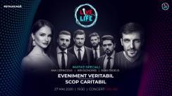 Al 6-lea concert caritabil Live for Life