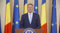 Declarația de presă susținută de Președintele României, Klaus Iohannis, la finalul ședinței Consiliului Suprem de Apărare a Țării