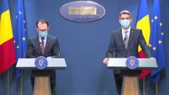 Conferință de presă după ședința Guvernului României din 27 mai 2020
