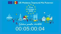 Ziua Europei 2020. #EU sunt activ și sănătos #acasă - Sportul este distractiv: antrenamente pentru părinți și copii