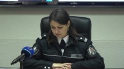 Briefing organizat de Inspectoratul General al Poliției privind cazul copilului dispărut la Hîncești