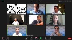 """Dezbaterea on-line organizată de Expert Forum cu tema """"Organizarea alegerilor în timpul pandemiei. Scenariile partidelor politice"""""""