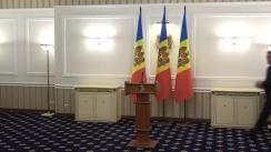 Declarații de presă după ședința de lucru a Președintelui Republicii Moldova, Igor Dodon, cu prim-ministrul Republicii Moldova, Ion Chicu