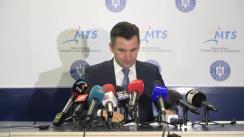 Conferință de presă susținută de Ministrul Tineretului și Sportului, Ionuț Stroe,legată de faza a doua a reluării activității sportive  și a competițiilor