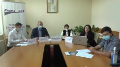 Conferința organizată de Asociația Promo-LEX de prezentare a Raportului cu privire la respectarea drepturilor omului în regiunea transnistreană pe timpul stării de urgență