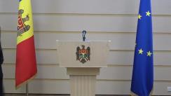 Declarație de presă susținută de deputații fracțiunii Partidului Acțiune și Solidaritate, Igor Grosu și Mihai Popșoi