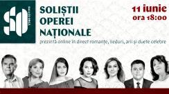 Recital de romanțe, lieduri, arii și duete celebre