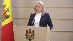 Briefing susținut de deputații Grupului PRO Moldova în timpul ședinței Parlamentului Republicii Moldova din 11 iunie 2020