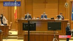 Ședința în plen a Camerei Deputaților României din 15 iunie 2020