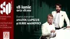 """Duetul pianiștilor Anatol Lapicus și Iurie Mahovici - """"Anotimpurile"""" op. 37 de P. I. Ceaikovski"""