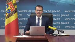 """Briefing de presă organizat de Ministerul Economiei și Infrastructurii cu tema """"Implementarea programului Drumuri 2020"""""""