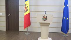 Declarație de presă susținută de Președintele Grupului PRO MOLDOVA, Andrian Candu și deputata PRO MOLDOVA, Elena Bacalu
