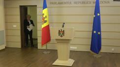 """Briefing susținut de deputații din fracțiunea Partidului Politic """"ȘOR"""""""