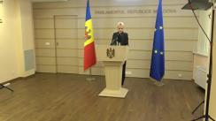 Declarația Marinei Tauber în timpul ședinței Parlamentului Republicii Moldova din 18 iunie 2020