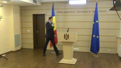 Declarațiile lui Vladimir Odnostalco în timpul ședinței Parlamentului Republicii Moldova din 18 iunie 2020