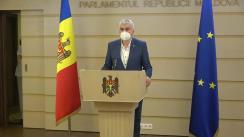 Declarațiile lui Alexandru Slusari în timpul ședinței Parlamentului Republicii Moldova din 18 iunie 2020