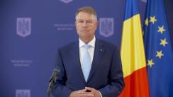 Declarație de presă susținută de Președintele României, Klaus Iohannis, după reuniunea Consiliului European