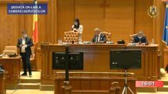 Ședința în plen a Camerei Deputaților României din 23 iunie 2020