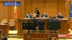 Ședința în plen a Camerei Deputaților României din 24 iunie 2020