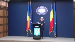 Declarație de presă susținută de purtătorul de cuvânt al Ministerului Afacerilor Interne, comisar-șef de poliție Monica Dajbog, in legătură cu acțiunile desfășurate de structurile MAI pentru verificarea respectării măsurilor de protecție sanitară.