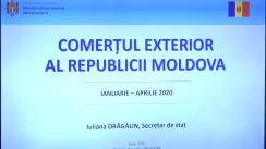 """Briefing de presă organizat de Ministerul Economiei și Infrastructurii cu tema """"Evoluția relațiilor comerciale cu Uniunea Europeană"""""""