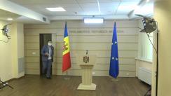 Conferință de presă susținută de deputatul Partidului Democrat din Moldova, Nicolae Ciubuc, privind o inițiativă legislativă de susținere a producătorilor din domeniul viti-vinicol