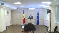 Declarații de presă ale vicepreședintelui Parlamentului Republicii Moldova, Alexandru Slusari, deputat al Fracțiunii ACUM PLATFORMA DA
