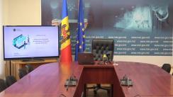Briefing de presă organizat de Ministerul Economiei și Infrastructurii privind Ghișeul Unic Electronic de Gestionare și Eliberare a Actelor Permisive
