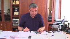 Conferință de presă susținută de Primarul Municipiului Bălți și Președintele Partidului Nostru, Renato Usatîi
