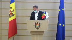 Conferință de presă a deputaților Grupului parlamentar PRO MOLDOVA privind situația politică actuală
